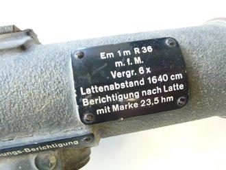 Entfernungsmesser Em 36 : Entfernungsmesser ungereingtes stück originallack optik de