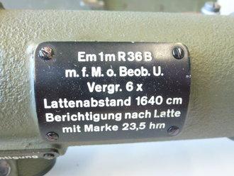 Entfernungsmesser Em 36 : Entfernungsmesser komplettes set mit zubehör im transportkas