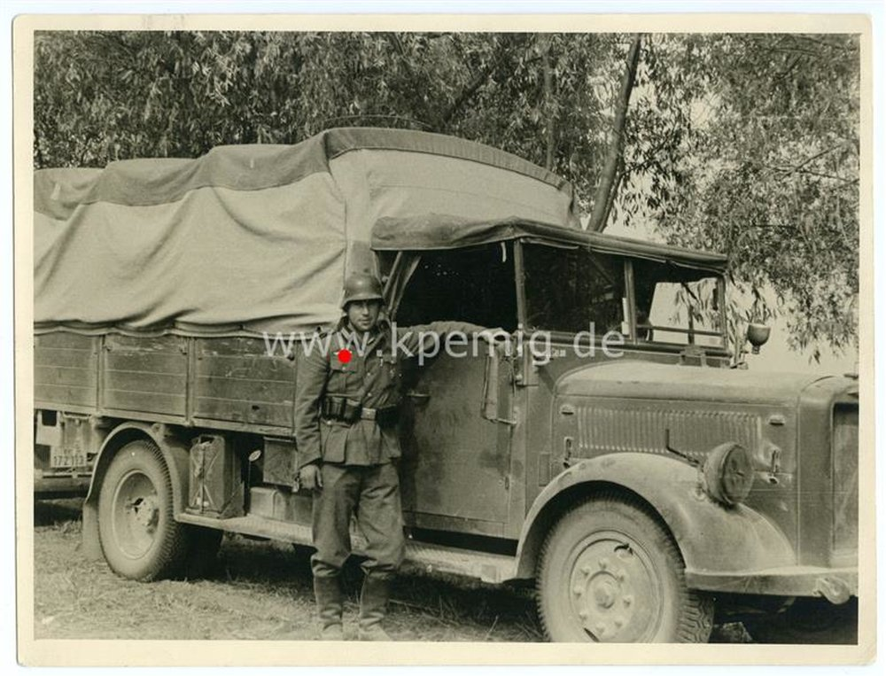 foto lkw der wehrmacht ma e ca 18 x24 cm 10 00. Black Bedroom Furniture Sets. Home Design Ideas
