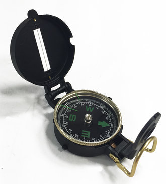 Lensatic Compass (Metal)