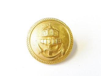 Kaiserliche Marine, Knopf golden 25mm