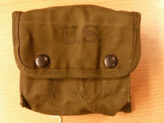 US Army WWII, jungle first aid pouch, OD
