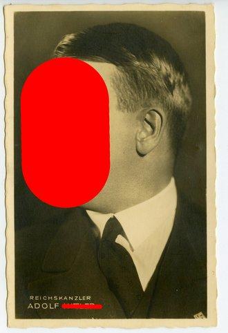 Ansichtskarte Reichskanzler Adolf Hitler Hoffmann Karte