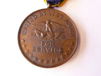 US Army before WWI, medal Mexican service 1911-1917, older reproduction