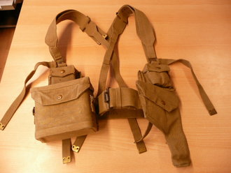 British WWII, Officers equipment, all WWII dated