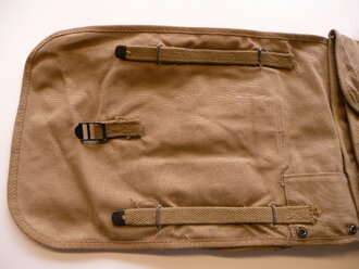 US Army WWII,haversack M28, khaki, 1942 dated