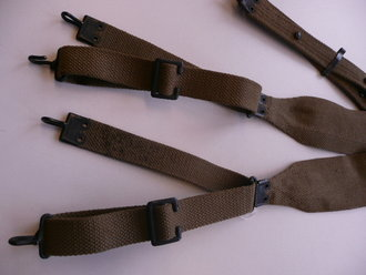 US Army WWI, M 1907 suspenders, Mills mfg, unused